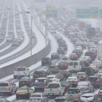 Atlanta comes to a stand still in Winter Storm Leon